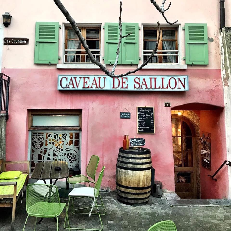 Caveau de Saillon
